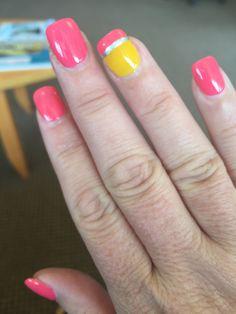 Pencil Tips Nail Designs - School School Nail Art, Back To School Nails, Simple Nail Art Designs, Fall Nail Designs, Shellac Nails, Acrylic Nails, Gel Manicure, Coffin Nails, Nail Polish