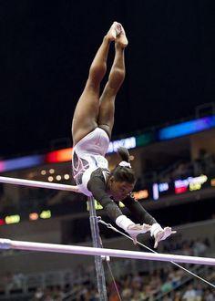 Simone Biles--2014 P&G Championships day one
