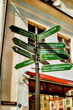 Hasta ahora lo tenía claro ;) (TALLIN - Estonia) Estonia #colourfulestonia #visitestonia