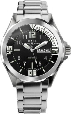 Ball Watch Company Engineer Master II Diver #add-content #bezel-unidirectional #bracelet-strap-steel #brand-ball-watch-company #case-depth-14-55mm #case-material-steel #case-width-42mm #date-yes #day-yes #delivery-timescale-call-us #dial-colour-black #discount-code-allow #gender-mens #luxury #movement-automatic #new-product-yes #official-stockist-for-ball-watch-company-watches #packaging-ball-watch-company-watch-packaging #style-divers #subcat-engineer-master-ii…