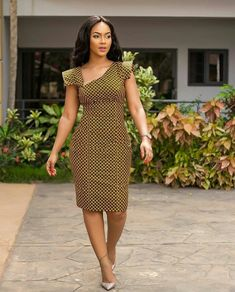 African Clothing for Women/ Ankara Dress/ Ankara outfit/ African Print Best African Dresses, African Traditional Dresses, African Attire, African Fashion Dresses, African Wear, Fashion Outfits, Ankara Fashion, African Style, African Women