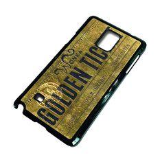 WONKA GOLD TICKET Samsung Galaxy Note 4 Case – favocase Gold Ticket, Galaxy Note 4 Case, Samsung Galaxy