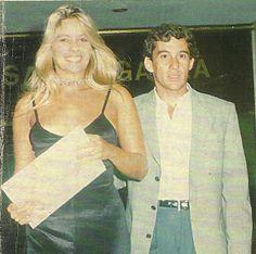 Ayrton Senna & Adriane Galisteu - 21 de dezembro de 1993.