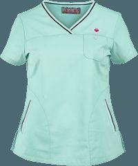 Nursing Scrubs, Medical Scrubs, Koi Scrubs, Scrubs Outfit, Sporty Look, Scrub Tops, Caregiver, Polo Ralph Lauren, Vanity