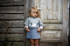 Girls Sweaters, Winter Sweaters, Toddler Girl Outfits, Wet Felting, Cropped Sweater, Hand Embroidery, Little Girls, Shirt Dress, Wool