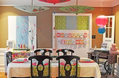 Japanese themed birthday party @ Kelly why bull:-)