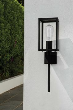 Buy the Coach 130 Exterior Wall Light Black by Astro Lighting and more online today at The Conran Shop, the home of classic and contemporary design Exterior Wall Light, Exterior Stairs, Exterior Lighting, Black Exterior, Outdoor Wall Mounted Lighting, Outdoor Wall Lamps, Decorative Lighting, Exterior House Colors Combinations, Exterior Paint Colors For House