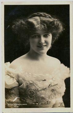 Antique Postcard of Edwardian Stage Actress - Denise Orme c.1908