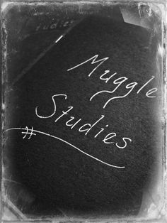 """I need to make a """"Muggle Studies"""" notebook. in fact, all of my school notebooks need to be Muggle Studies notebooks. Harry Potter Classes, Harry Potter Locations, Hogwarts Classes, Harry Potter Comics, Harry Potter Quotes, Harry Potter Aesthetic, My Philosophy, Suzy, School Notebooks"""