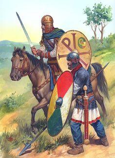 Late Roman Empire Legionary and Equites by Nicholas Subkov