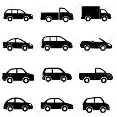 silhouette car - Google zoeken