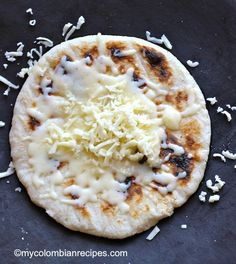 These arepas or corn cakes are popular in Colombia and Venezuela.  mycolombianrecipes.com