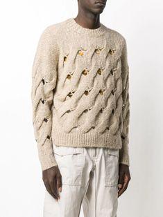 Wall Street Innovate Mens Knit Crew Neck Shirt