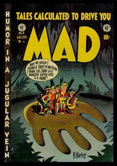 Harvey Kurtzman cover for MAD Magazine.