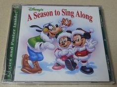 Disney Christmas Sing Along Mickey Mouse Minnie Mouse Goofy Music CD
