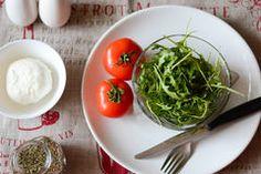 Italian fresh snack Stock Photography