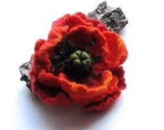 felted brooches - Google Search