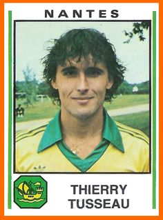 Thierry Tusseau - Panini 1981