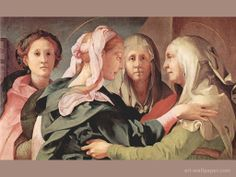 the visitation of mary to elizabeth - Google Search