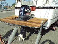 Swim platform on outboard...How!? - The Hull Truth - Boating and Fishing Forum
