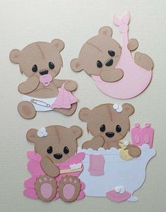 Bathtub and Baby bear Metal cutting Dies Greeting Cards Scrapbooking Die Stamp DIY Scrapbooking Card Photo Decoration Supplies-in Cutting Dies from Home & Garden on AliExpress Diy Scrapbook, Scrapbook Supplies, Baby Cards, Kids Cards, Album Diy, Bear Card, Bear Theme, Marianne Design, Stencil Diy