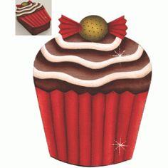 Caixa cupcake Bala