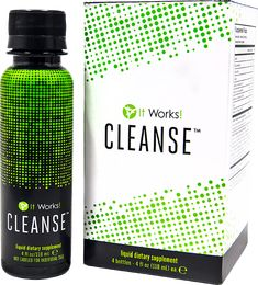 Every month, reset and rebalance your system with It Works! Cleanse™! A gentle two-day herbal cleanse formulated with two proprietary blends to work with your body to help remove toxins while delivering essential nutrients and vitamins,* It Works! Cleanse provides a powerful cleanse without the harsh effects other cleanses can cause.