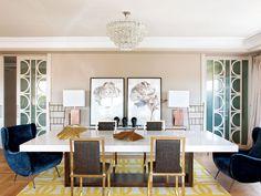 Un piso ultraelegante-- so modern and chic