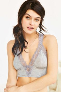 99ace2046e Out From Under Valerie Lace Racerback Bra For under loose flowing but high  neck cotton shirts