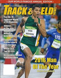 Track & Field News Magazine devoted exclusively to coverage of track and field in the United States and worldwide. Ashton Eaton, World Famous, Track And Field, Athlete, Baseball Cards, American, Magazines, United States, Amazon