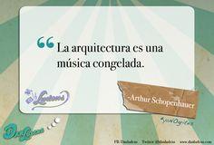 Frases, arquitectura. #GpgConstructora  #GpgStudio