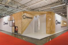 Exhibition Design Stand for the Bebecê Shoe Company at SIIC Shoe Company, Booth Design, Trade Show, Divider, Projects, Room, Behance, Inspiration, Furniture