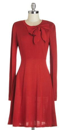 Red Sweater Dress|Winter Holiday's