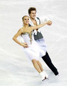 Russian ice dancers Victoria Sinitsina & Nikita Katsalapov at the 2016 World Championships