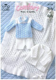 Jacket, Shawl, Sweater and Shorts Baby Knit