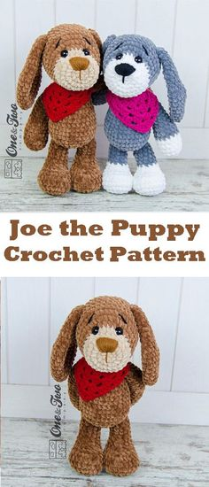 Joe the Puppy Amigurumi - PDF Crochet Pattern - Instant Download - Amigurumi Cuddy Stuff #ad #crochet