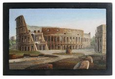 Micro-mosaic Panel 19th century