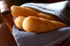 Our family likes these breadsticks because they are soft and chewy. I like to make them when I am in a hurry because they rise quickly.
