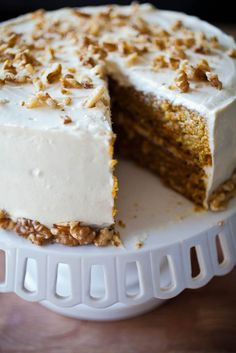The most moist carrot cake ever with cream cheese frosting from the geniuses at Mile End