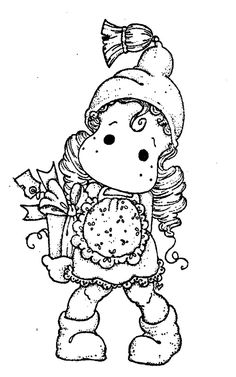 Bilderesultat for tilda coloring page Colouring Pages, Adult Coloring Pages, Coloring Books, Magnolia Colors, Black And White Drawing, Penny Black, Cute Images, Copics, Coloring For Kids