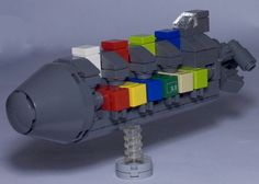 Space Ship Concept for Shipping Containers