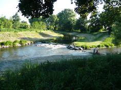 soutok řek Opavy a Opavice