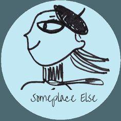 Someplace Else #Blogging #Handmade #Icon #Logo #Travel #Paris #Art