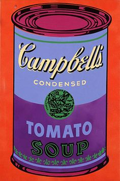 Andy Warhol. Campbell's Soup, 1965