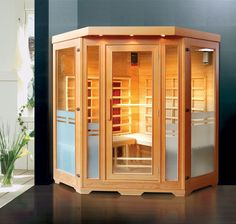 Far infrared sauna. The health benefits of this are amazing!