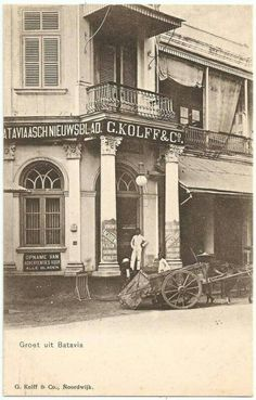 G. Kolf & Co. Noordwijk Batavia circa 1900.