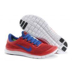 Nike Free 3.0 Rot Blau Männer