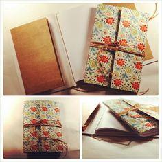 """#de7tasarim  #nostalgia  new handmade book with book pocket  yeni cepli defter"