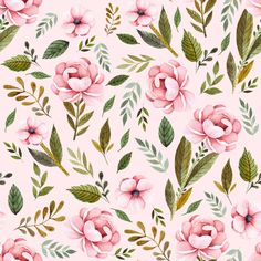 Strawberry Fields Roses - Blush custom fabric by shopcabin for sale on Spoonflower Strawberry Fields, Wall Wallpaper, Custom Fabric, Spoonflower, Card Making, Blush, Gift Wrapping, Floral, Prints