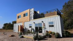 Jon and Kristen build a container guest home for their in-laws.